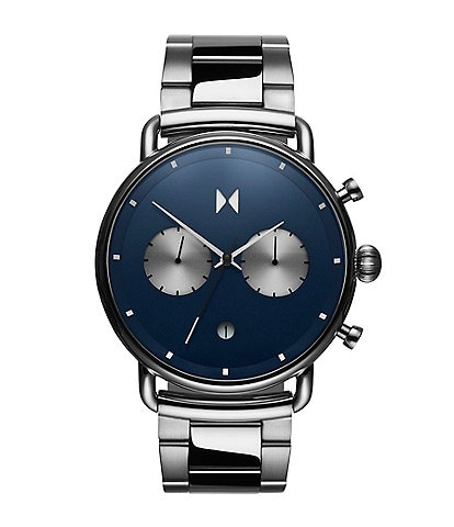 MVMT Blacktop Astro Blue Stainless Steel Bracelet Watch