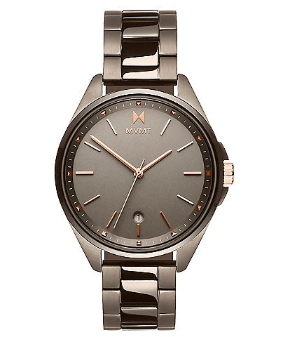 MVMT Coronada Moonliner Taupe Stainless Steel Bracelet Watch