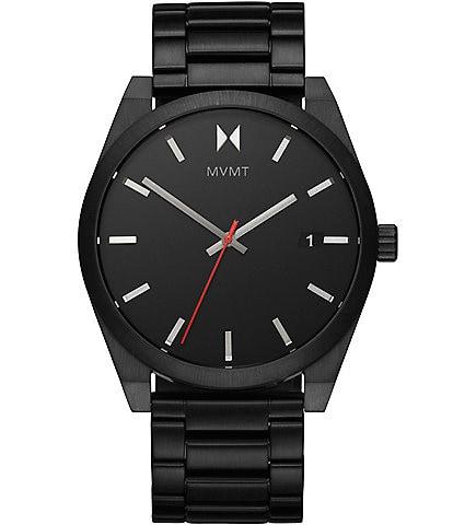 MVMT Element Ash Black Stainless Steel Bracelet Watch