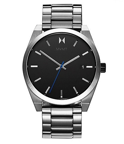 MVMT Element Ion Silver Stainless Steel Bracelet Watch