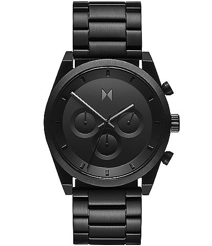 MVMT Men's Black Chronograph Bracelet Watch