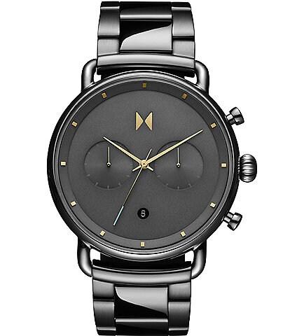 MVMT Men's Blacktop Grey Stainless Steel Bracelet Watch