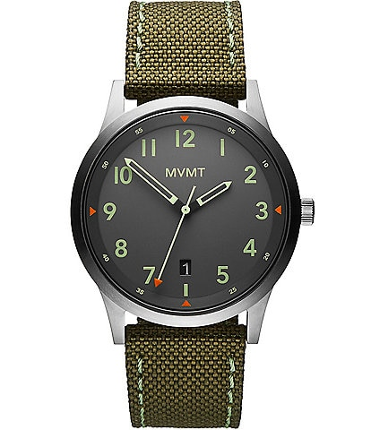 MVMT Men's Field Strap Watch