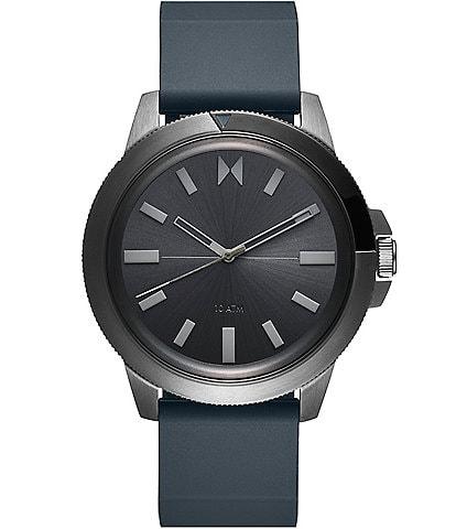MVMT Minimal Sport Pacific Mist Blue Silicone Watch