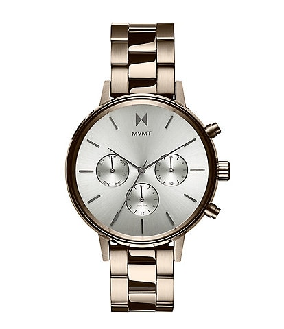 MVMT Nova Nomad Brushed Gold Stainless Steel Watch