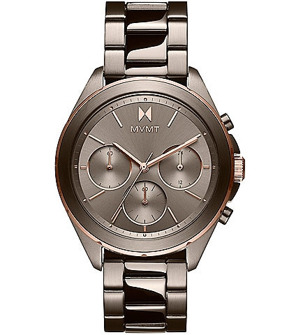 MVMT Women's Getaway Bondi Taupe Bracelet Watch