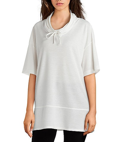 N by Natori NVious French Terry Pullover Top