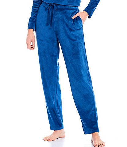 N by Natori Velour Drawstring Lounge Pants