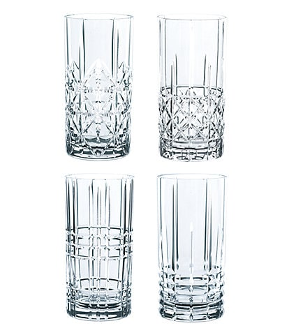 Nachtmann Highland Long drink Glasses, Set of 4