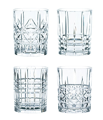 Nachtmann Highland Whiskey Glasses Set of 4