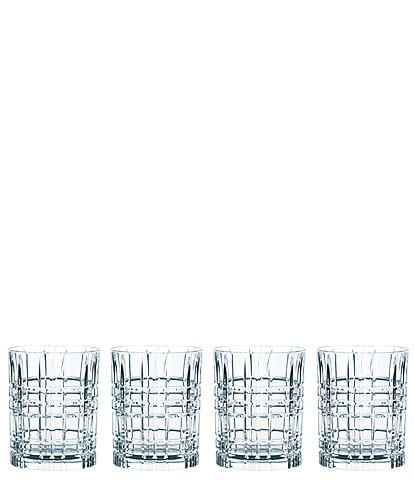 Nachtmann Square Whiskey Glasses, Set of 4