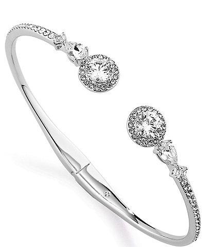 Nadri Cubic Zirconia Hinge Bracelet