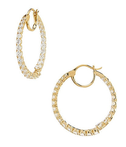 Nadri Evie Hoop Earrings