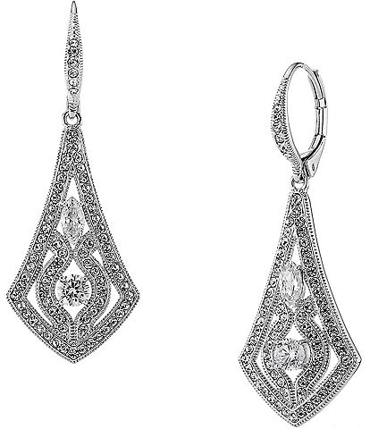 Nadri Pav Drop Earrings