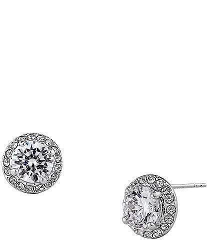 Nadri Pav Stud Earrings