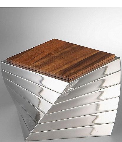 Nambe Twist Coaster Set