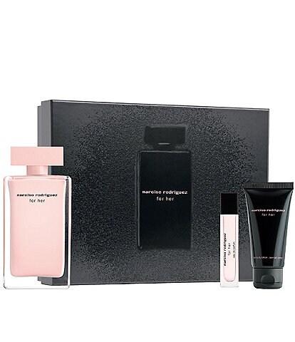 Narciso Rodriguez For Her Eau de Parfum 3-Piece Gift Set