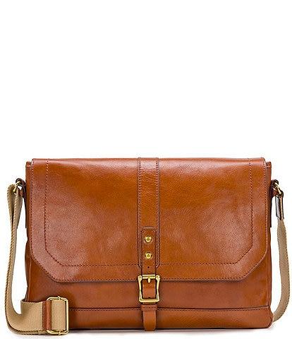 Nash Heritage II Leather Messenger Bag