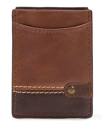 Nash Palermo Card Case with Magnetic Money Clip