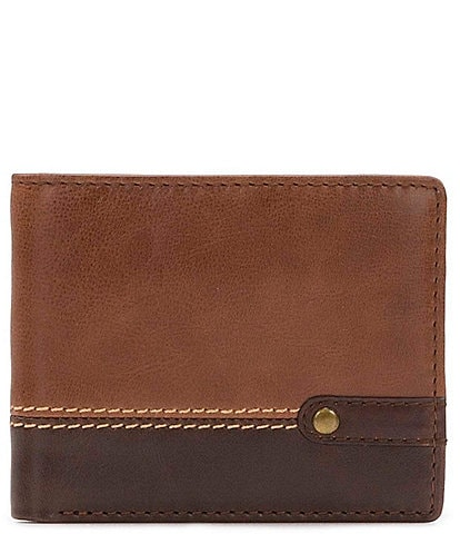 Nash Palermo Flip Passcase Leather Wallet