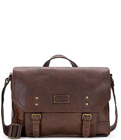 Nash Tuscan II Leather Messenger Bag