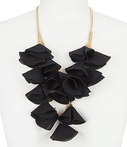 Natasha Accessories Oscar Tulip Statement Necklace