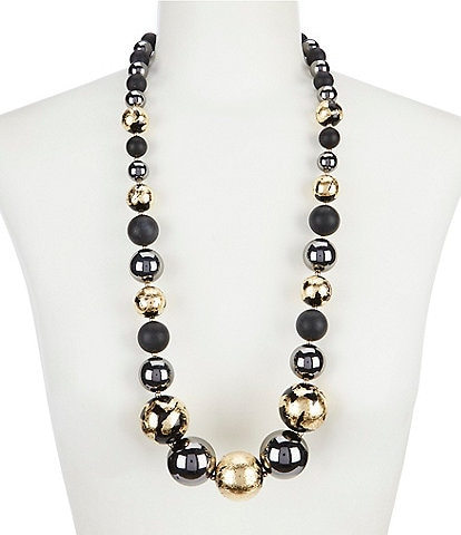 Natasha Accessories Patina Necklace