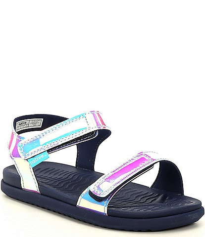 Native Girls' Charley Hologram Sandals Infant