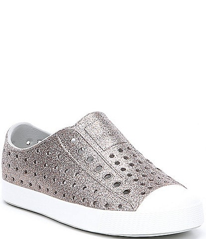 Native Girls' Jefferson Bling Slip-On Sneakers Toddler