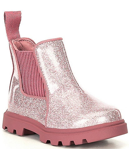 Native Girls' Kensington Treklite Glitter Waterproof Chelsea Boots (Infant)