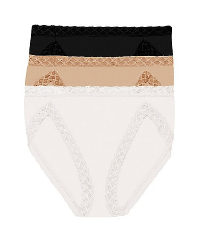 Natori Bliss French-Cut Brief Panty 3-Pack