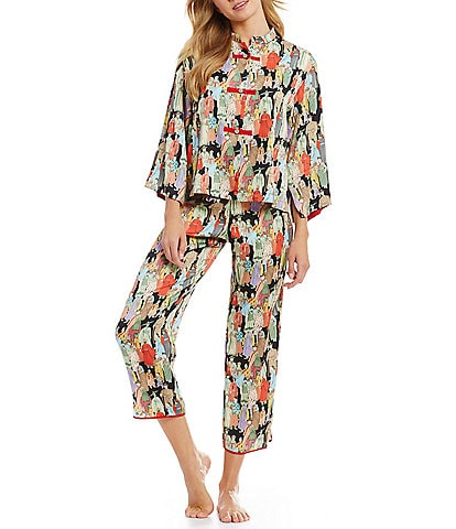 Natori Dynasty Satin Pajamas