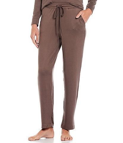 Natori Mirage Solid Knit Drawstring Coordinating Lounge Pants
