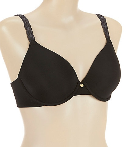Natori Pure Luxe Seamless Full-Busted Wire U Back Contour T-Shirt Bra
