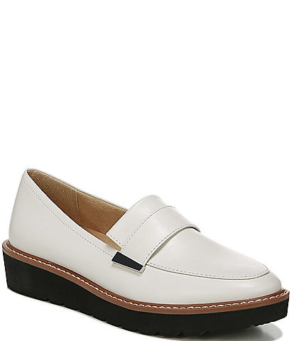 Naturalizer Adiline Leather Wedge Loafers