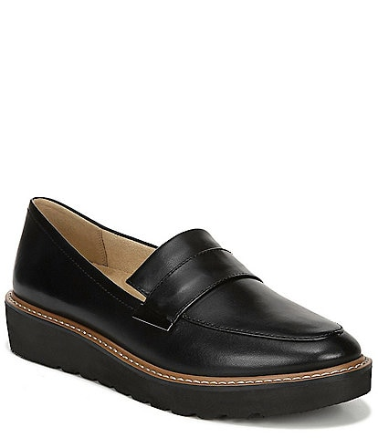 Naturalizer Adiline Leather Wedge Loafer