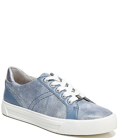 Naturalizer Astara Washed Leather Lace-Up Sneakers