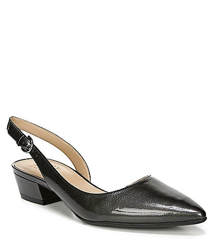 Naturalizer Banks Leather Slingback Pumps