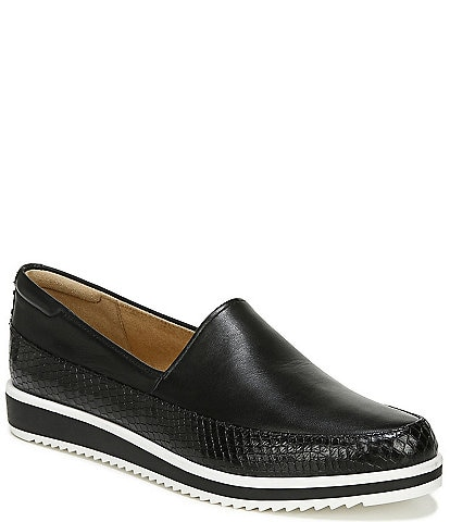 Naturalizer Beale Leather Sporty Slip Ons