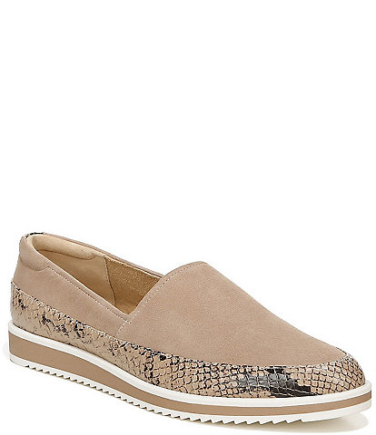 Naturalizer Beale Leather Sporty Slip-Ons