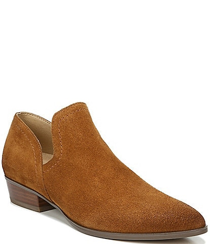 Naturalizer Belinda Suede Block Heel Shooties