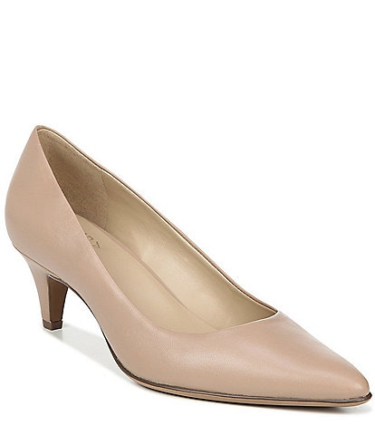 Naturalizer Beverly Leather Kitten Heel Pumps