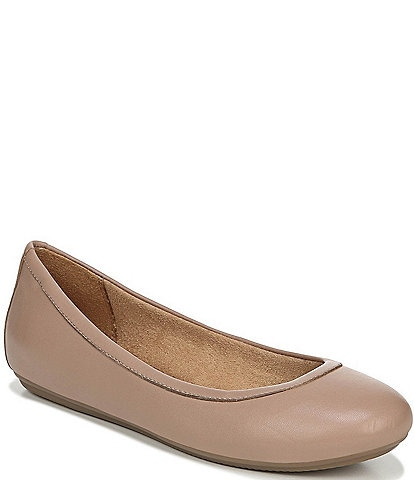 Naturalizer Brittany Leather Slip On Flats
