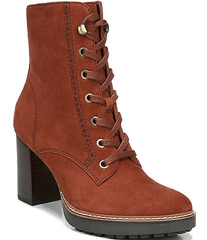Naturalizer Callie Suede Hiker Boots