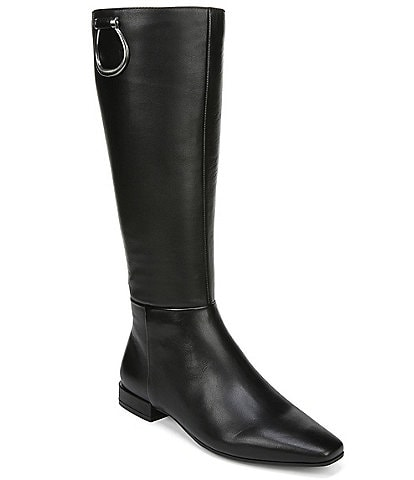 Naturalizer Carella Wide Calf Leather Riding Boots