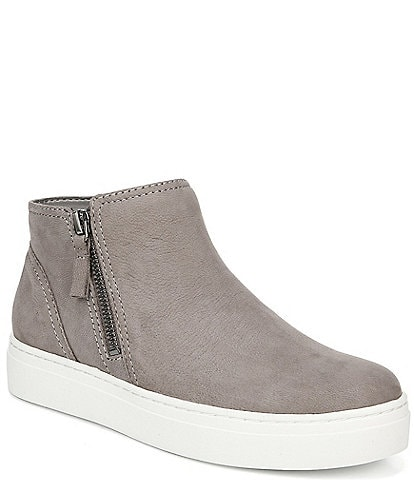 Naturalizer Celeste Nubuck Side Zip Sneakers