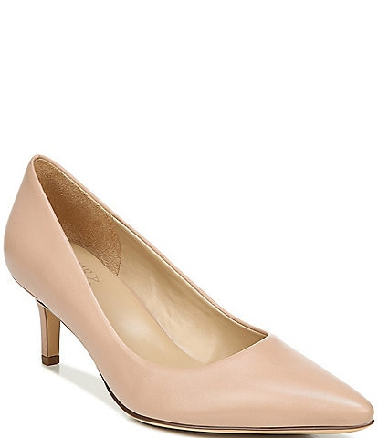 Naturalizer Everly Leather Kitten Heel Pumps