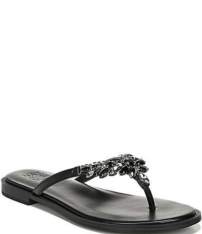 Naturalizer Fallyn Crystal Rhinestone Detailed Dress Sandals