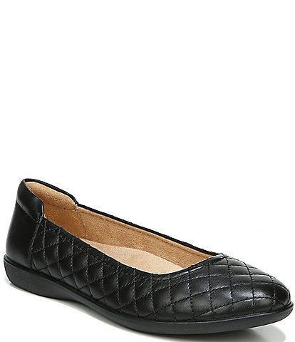 Naturalizer Flexy Quilted Leather Ballet Flats