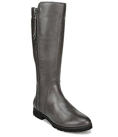 Naturalizer Gael Leather Tall Wide Calf Boots